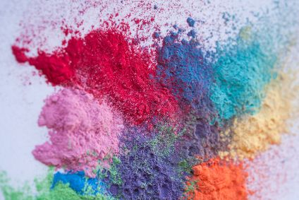The Recycrom pigment powders are made from 100% textile waste