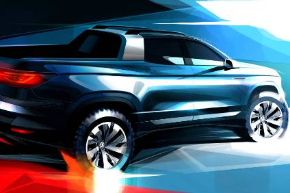 Vw To Show Pioneering Pickup Concept At Sao Paulo Show