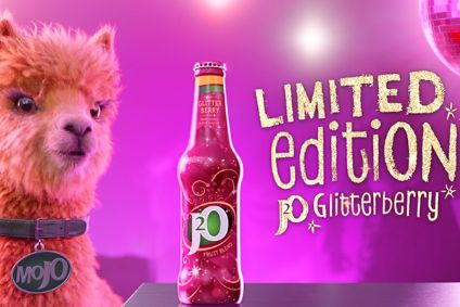 Britvic lines up J2O Glitterberry UK TV push