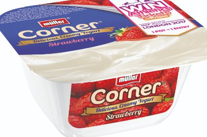 Muller unveils sugar reduction target for UK yogurt brands