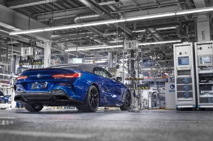 The BMW 8 Series Convertible strengthens Dingolfing's role as BMWs lead plant for the upper luxury-class segment