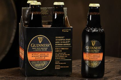 Diageo's Guinness Stout Aged in Bulleit Bourbon Barrels - Product Launch