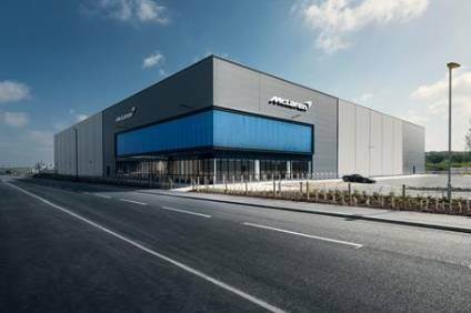The new McLaren Automotive production facility is the companys second