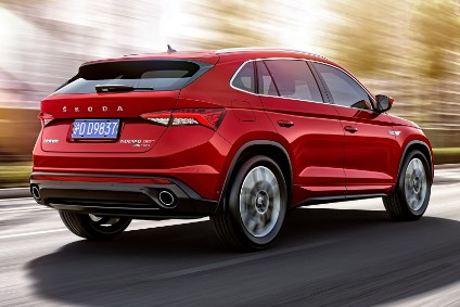 SAIC Volkswagen has just begun building the Škoda Kodiaq GT in Changsha