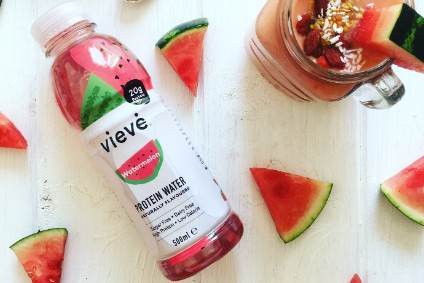 Healthy Protein Co's Vieve Watermelon Protein Water - Product Launch