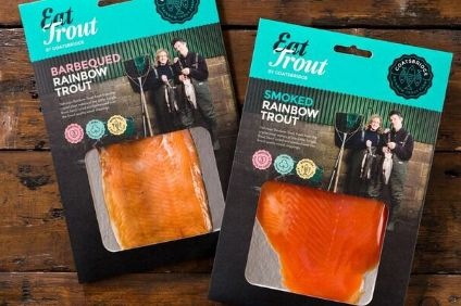 Some of Goatsbridges trout product range