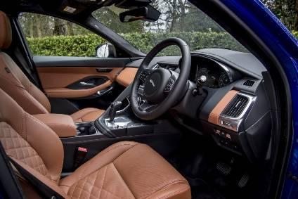 Interior Design And Technology Jaguar E Pace Automotive Industry