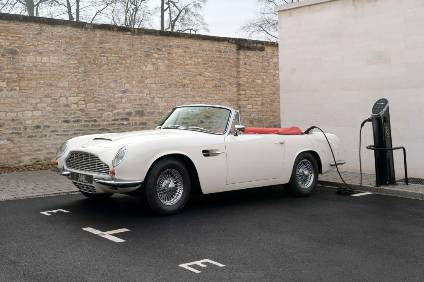 Aston Martin DB6 Transformed Into Electric Beauty