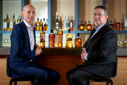 Ian Curle, left, will hand over Edringtons leadership to Scott McCroskie