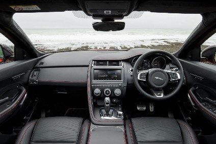 Our look inside the Jaguar E-Pace was very popular this week