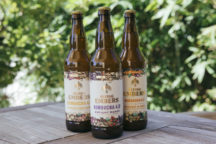 Kevita founder widens California roll-out of new brand Flying Embers Organic Hard Kombucha
