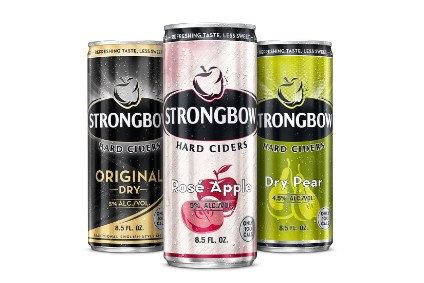 Heineken puts calorie count centre stage on new slimline Strongbow cans