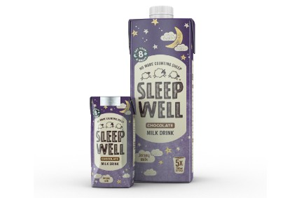 Sleep Well's Chocolate Milk Drink sleeping aid - Product Launch