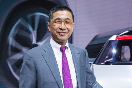 Image result for Nissan chief executive Hiroto Saikawa to resign, successor to be named