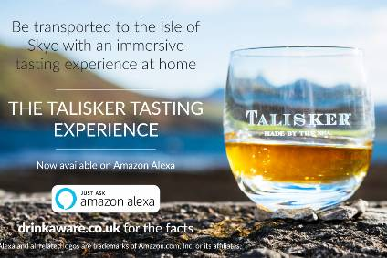 Diageo lines up Amazon Alexa whisky tasting experience