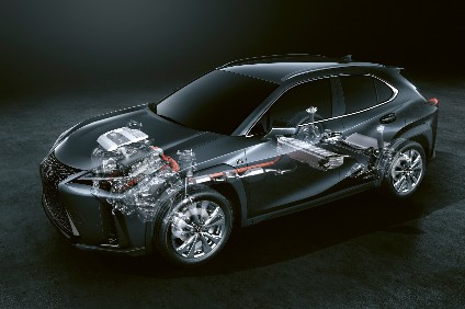 Toyota's Lexus launches 4G hybrid system with UX crossover