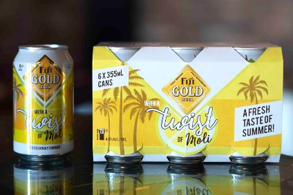 Fiji Gold Moli lemon-flavoured beer launches across Fiji this month