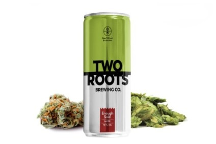 Cannabis beverages are a growing force in the food & drink retail market