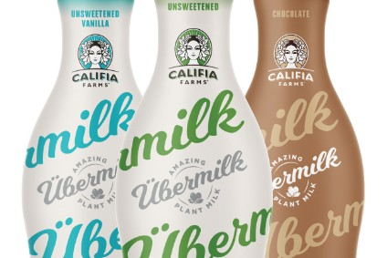 "New products - Califia Farms launches Ubermilk oat drinks; Kashi expands Kashi by Kids line; The Jackfruit Company unveils Complete Jackfruit Meals; Cereal ""straight from the box"""