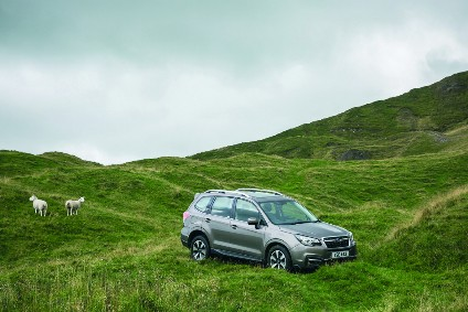 At home in Britain: February was a good month for Forester sales