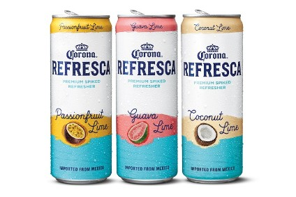 Constellation Brands Corona Refresca was tested in the US last year