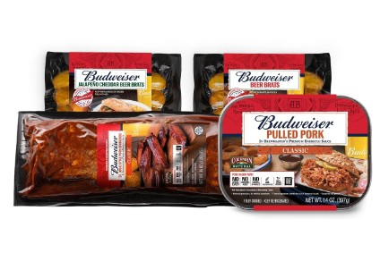 Anheuser-Busch InBev moves to meat aisle with Budweiser pork produce