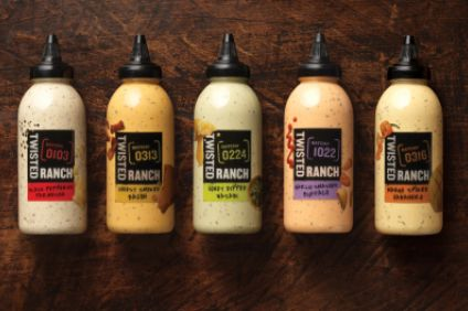 New products - Kraft Heinz links up with restaurant on Twisted Ranch dressings; Dean Foods adds to DairyPure range; Mondelez adds new lines to Dairylea; Mars launches Skittles in India