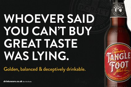 Hall & Woodhouses Badger Beer posters will roll out from 22 April in the UK