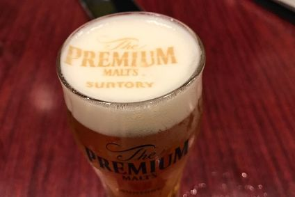 Suntory Beer uses foam printer tie-up to boost beer sales in Japan