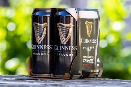 Diageo removes plastic from UK-&-Ireland-made Guinness packaging