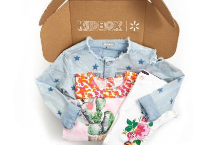Walmart wades into subscription apparel with Kidbox
