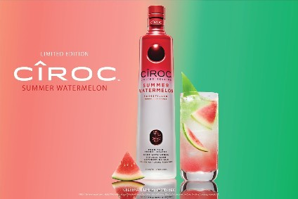 Diageo's Ciroc Summer Watermelon vodka - Product Launch