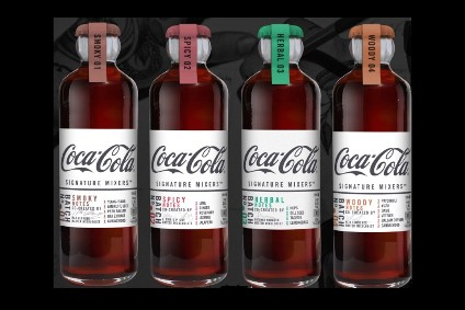 The Coca-Cola Co's Signature Mixers range launched in the UK in June
