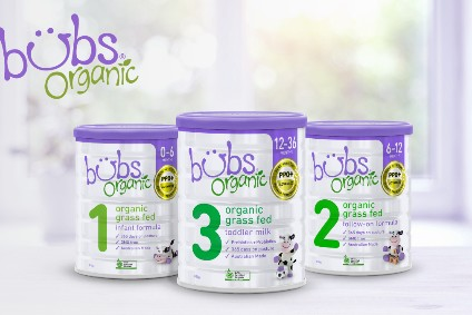Bubs Australia partners with Fonterra in organic grass-fed infant formula