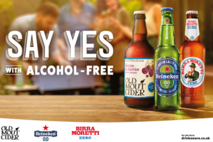 Heineken UK lines up alcohol-free beer and cider campaign