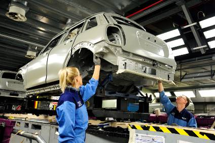 August was another tough month for UK car manufacturing as overseas demand slumped