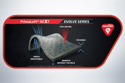 Primaloft combines insulation with fabric flexibility