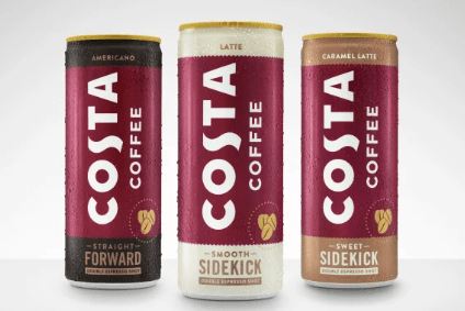 Coffee beans a bigger play than RTDs in Costa roll-out - Coca-Cola HBC