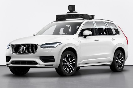 Rebounding from crash, Volvo and Uber show production autonomous car