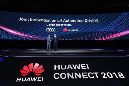 Huawei Working With Audi And Gac On Driverless Cars Automotive