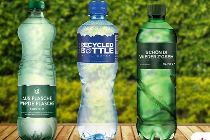 Bottles for three of CCHBCs water brands are to be made out of 100% recycled plastic