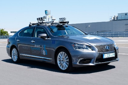 TME is using a Lexus LS for its Brussels AV trials