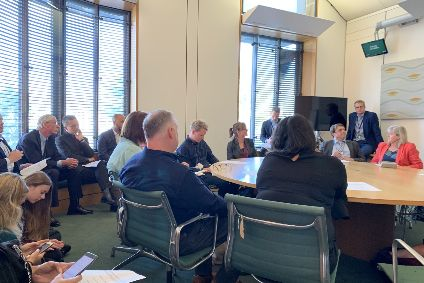 Inaugural meeting of the APPG for Sustainable Clothing and Textiles