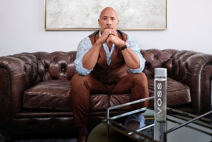 "Last month, Voss announced a ""strategic partnership"" with action movie star Dwayne Johnson"