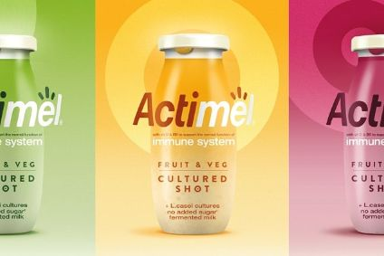"New products - Danone launches Actimel ""shots""; Cofresh markets Bombay Mix-style snack bars; Tyson to try out functional snacks; Plant-based foray from sports-nutrition firm SiS"