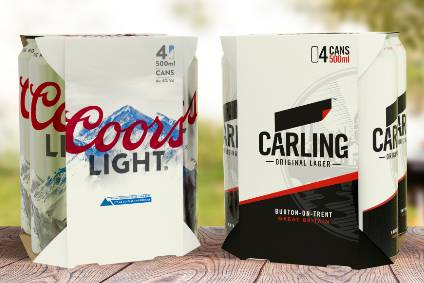 Molson Coors to only use eco-friendly packaging by 2025