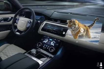 Jaguar Land Rover developing next-gen 3D cockpit displays