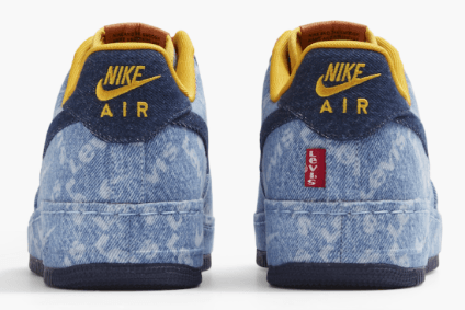 oficina postal Shinkan Poner  Nike teams with Levi Strauss on footwear customisation | Apparel Industry  News | just-style