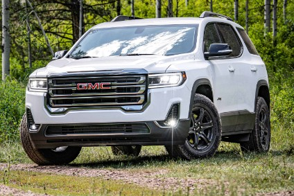 AT4 is new for the 2020 Acadia range