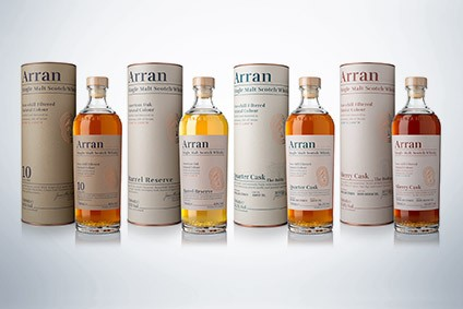 Isle of Arran Distillers consolidates packaging across core